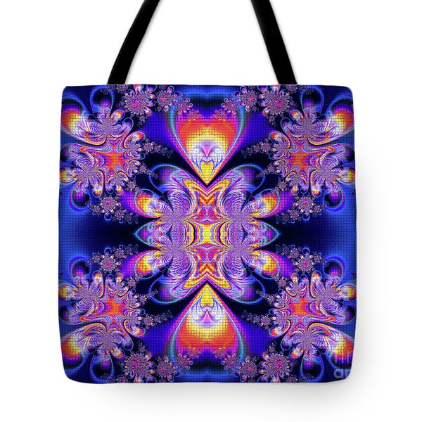 Tote Bag featuring the digital art Deep Heart by Ian Mitchell