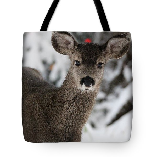 Deer Tote Bag by Irina Hays