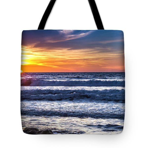 Sunset - Del Mar, California View 1 Tote Bag