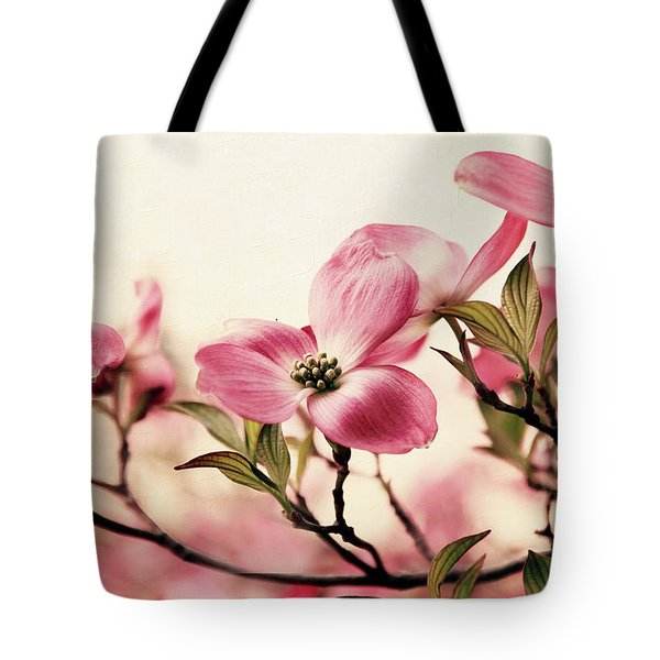Tote Bag featuring the photograph Delicate Dogwood by Jessica Jenney