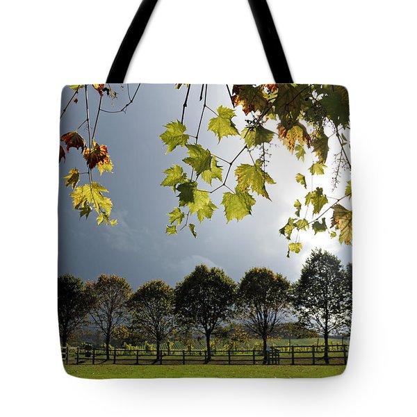Denbies Vineyard Surrey Uk Tote Bag