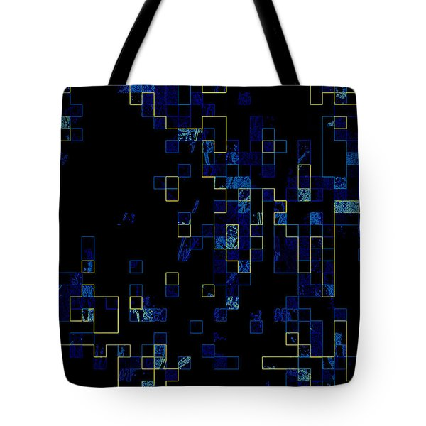 Tote Bag featuring the mixed media Depth by Kristine Nora