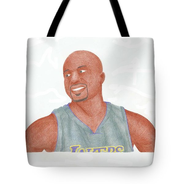 Derek Fisher Tote Bag by Toni Jaso