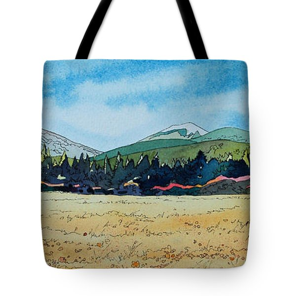 Deschutes River View Tote Bag