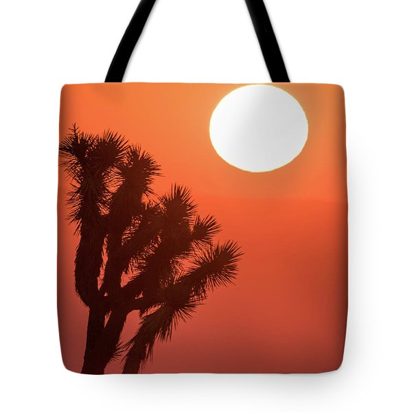 Tote Bag featuring the photograph Desert Sunrise by Vincent Bonafede