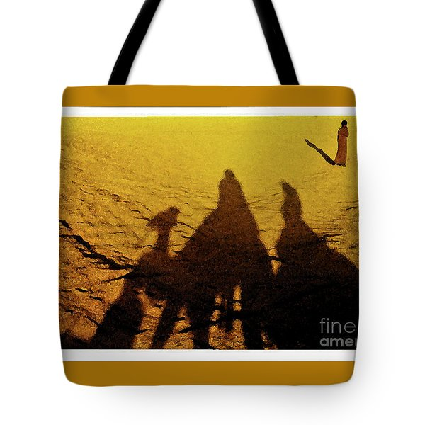 Desert Trek Tote Bag