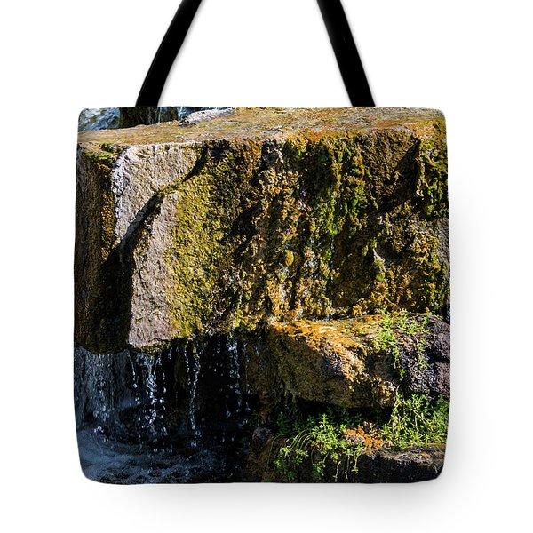 Desert Waterfall 2 Tote Bag