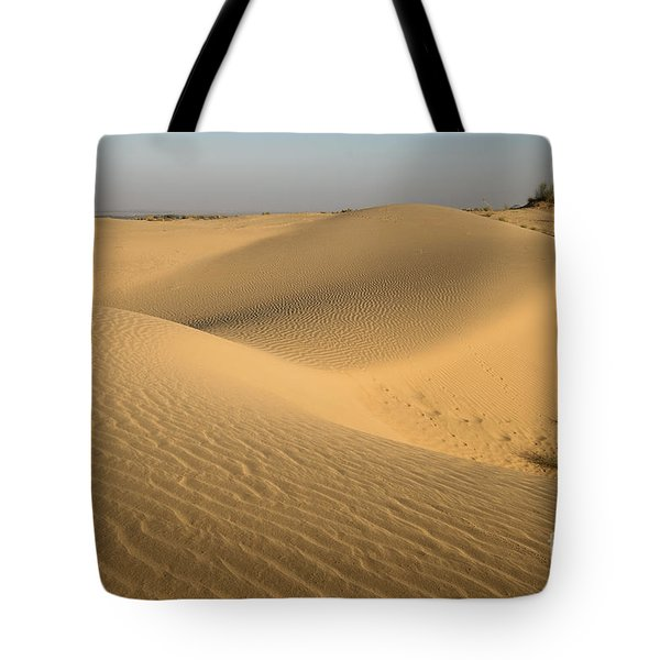 Tote Bag featuring the photograph Desert by Yew Kwang