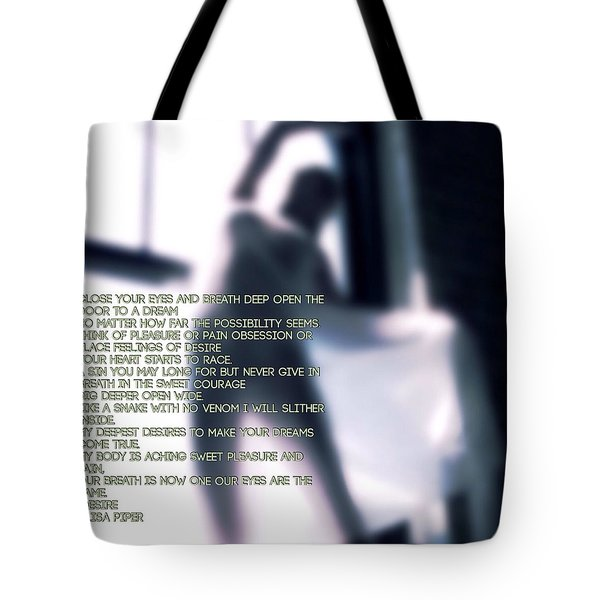 Desire Tote Bag by Lisa Piper