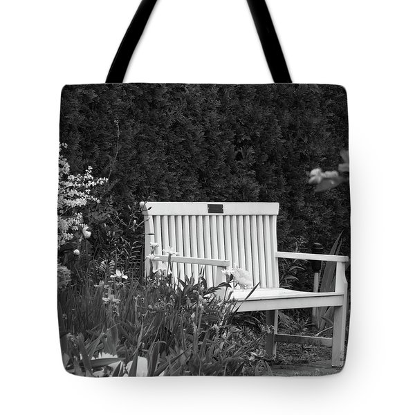 Desolate In The Garden Tote Bag