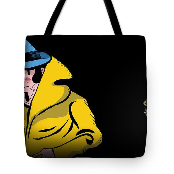 Detective Case And Clown Bot In Murder In The Hotel Lisbon Tote Bag