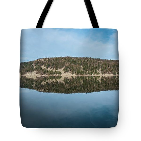 Devils Lake Tote Bag