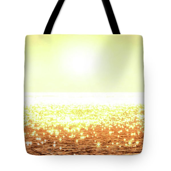 Rose Gold Diamonds Tote Bag by Michael Rock