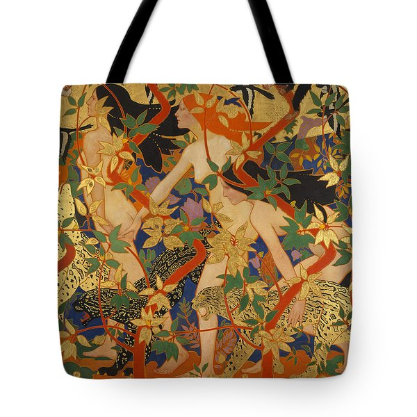 Diana And Her Nymphs Tote Bag