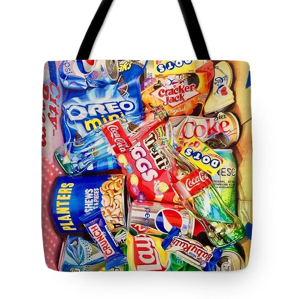 Dibs On The Baby Ruth Tote Bag