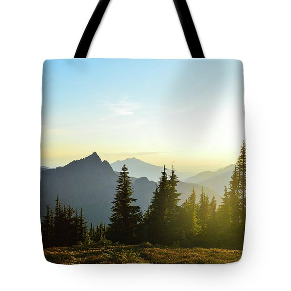 Dickerman Sunset Tote Bag