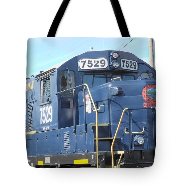 Diesel Engline Train Tote Bag