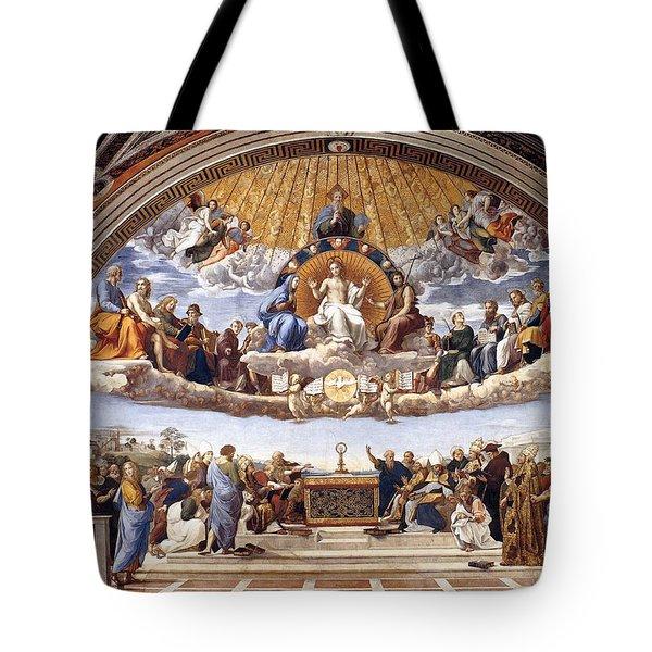 Disputation Of The Eucharist Tote Bag