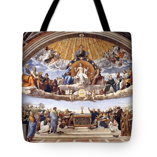 Disputation Of The Eucharist Tote Bag