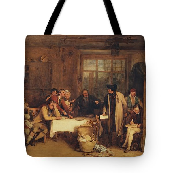 Distraining For Rent Tote Bag