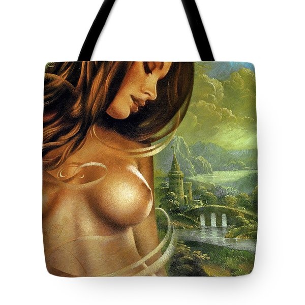 Diva Tote Bag by Arthur Braginsky
