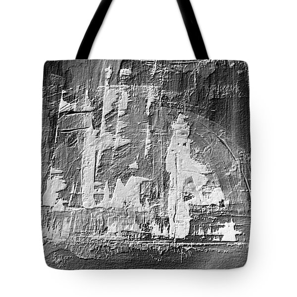 Tote Bag featuring the painting Dj's World by 'REA' Gallery