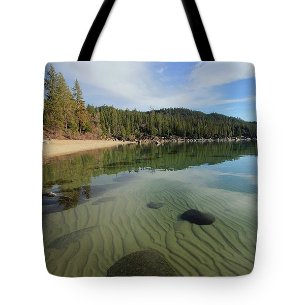 Tote Bag featuring the photograph Do You Speak The Language Of Sands by Sean Sarsfield