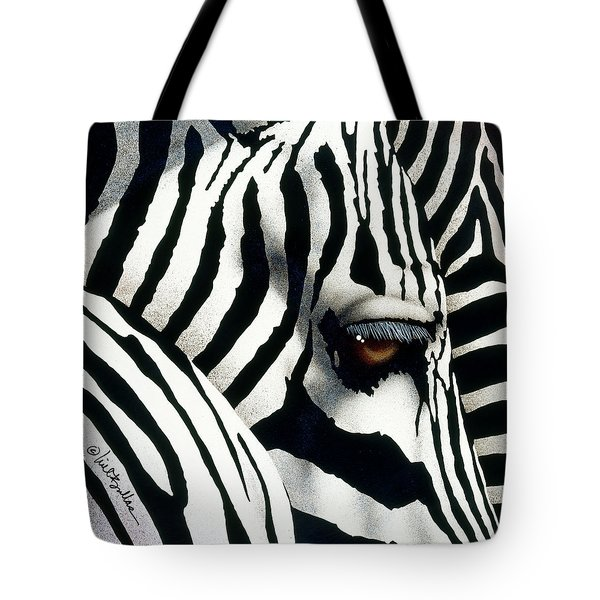 Do Zebras Dream In Color? Tote Bag by Will Bullas
