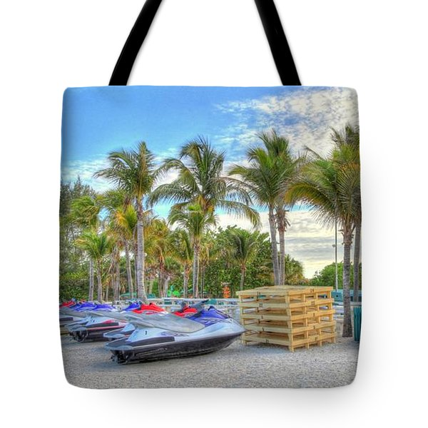 Docs Beach House Tote Bag