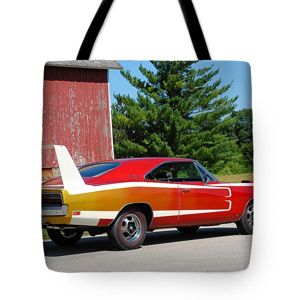Dodge Charger Daytona Tote Bag