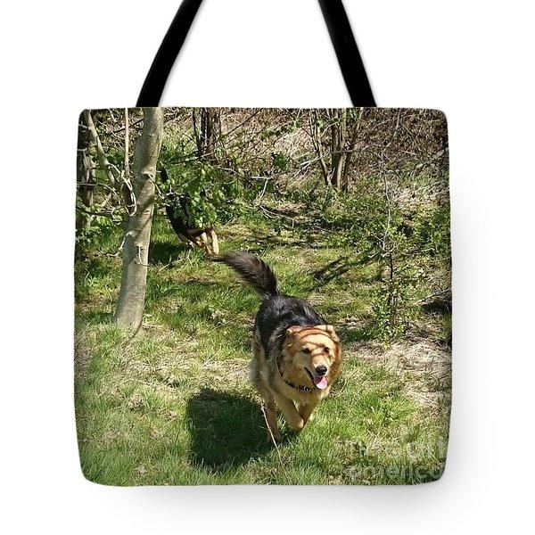 #dogs #gsd #germanshepherd Tote Bag