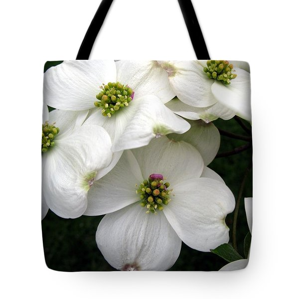 Dogwood Branch Tote Bag