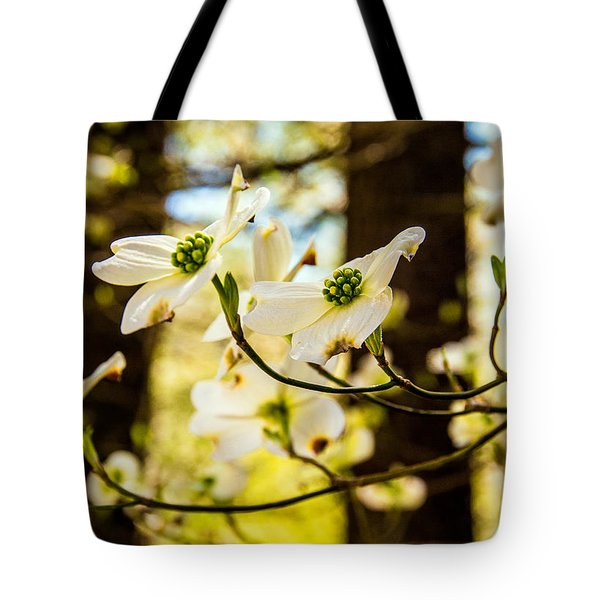 Tote Bag featuring the photograph Dogwood Day Afternoon by John Harding