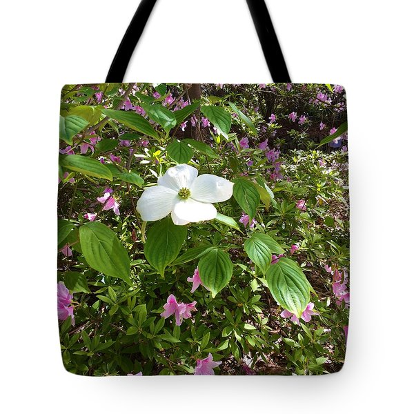 Dogwood Tote Bag by Kay Gilley