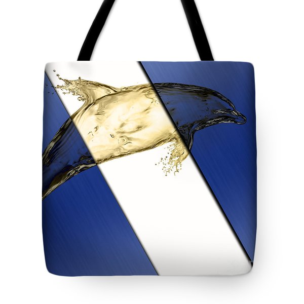 Dolphin Collection Tote Bag by Marvin Blaine