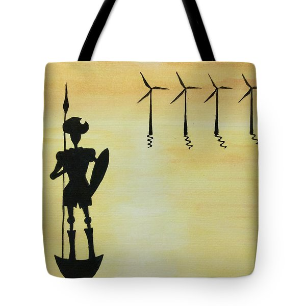 Don Quixote Tote Bag