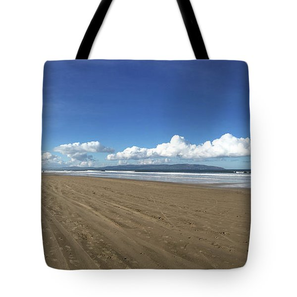 Tote Bag featuring the photograph Downhill Beach by Colin Clarke