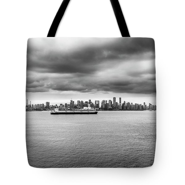 Tote Bag featuring the photograph Downtown Vancouver by Ross G Strachan