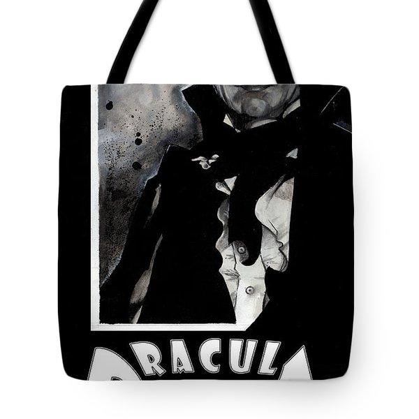 Dracula Movie Poster 1931 Tote Bag