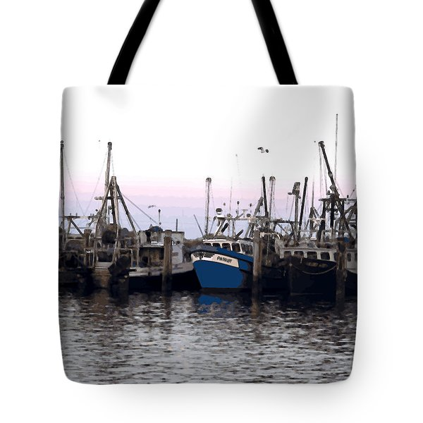 Tote Bag featuring the digital art Dragger Painting by Newwwman