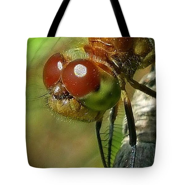 Dragonfly Tote Bag by Bruce Carpenter
