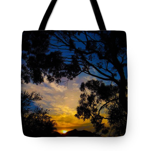 Dream Sunrise Tote Bag by Mark Blauhoefer