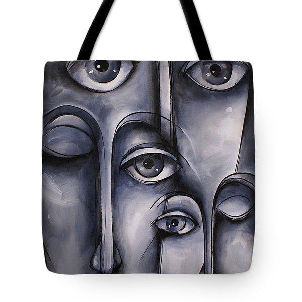 Dreamers Tote Bag by Michael Lang