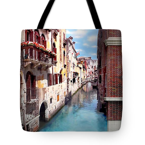 Dreaming Of Venice Panorama Tote Bag