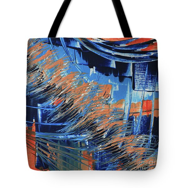 Tote Bag featuring the painting Dreaming Sunshine  by Cathy Beharriell