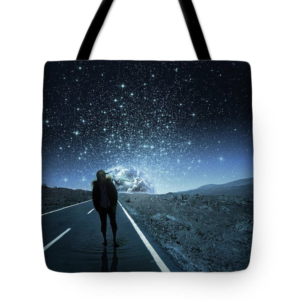 Dreams Tote Bag by Berebel Co By Angel Caulin