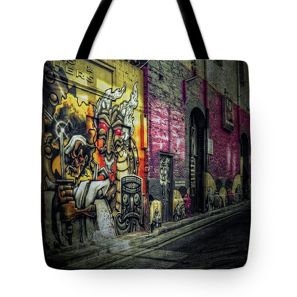 Tote Bag featuring the photograph Dreamscape by Wayne Sherriff