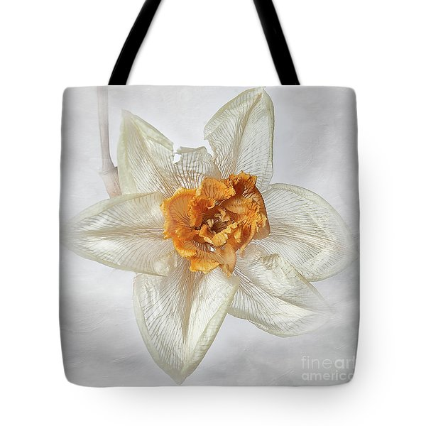 Dried Narcissus Tote Bag