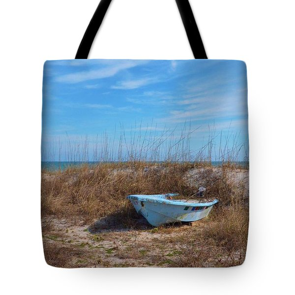 Dry Docked Tote Bag by Bob Sample
