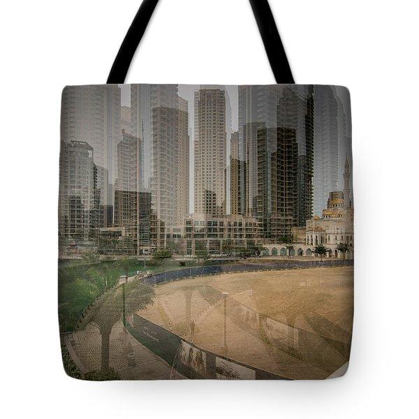 Dubai Marina  Tote Bag